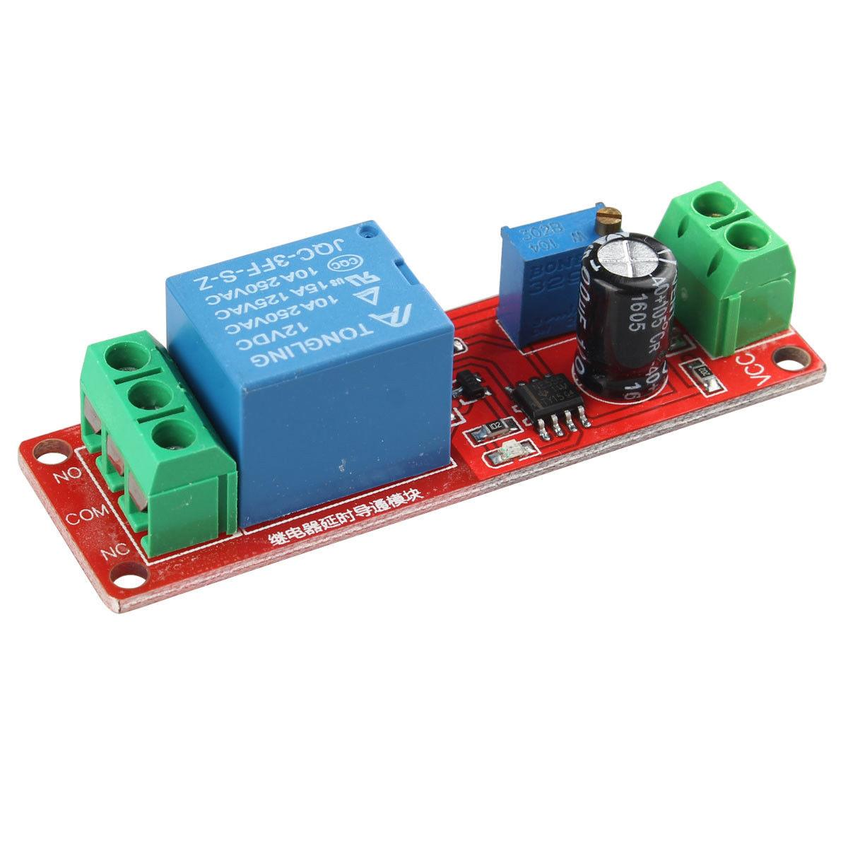 Delay relay shield NE555 Timer Switch Adjustable Module 0~10S