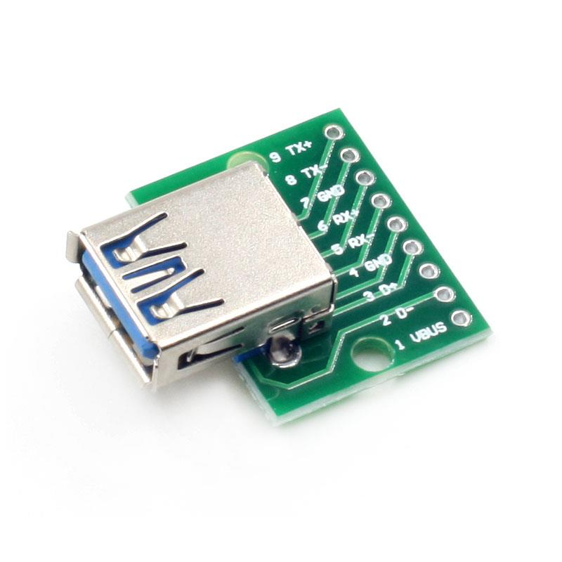 USB 3.0 to 9pin Header breakout board